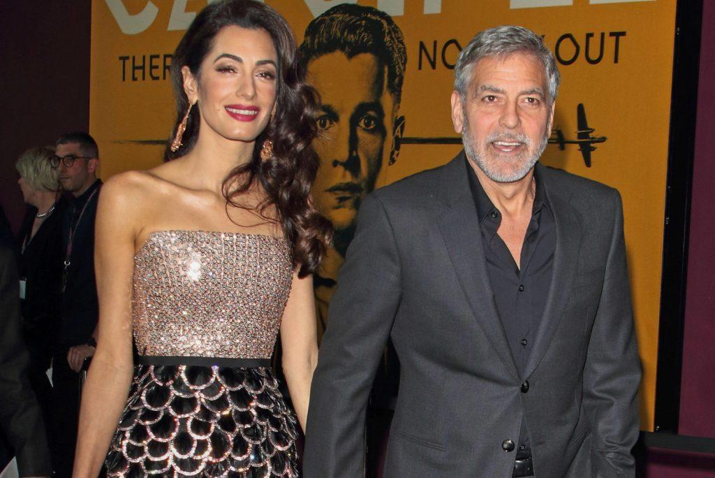 George Clooney figli